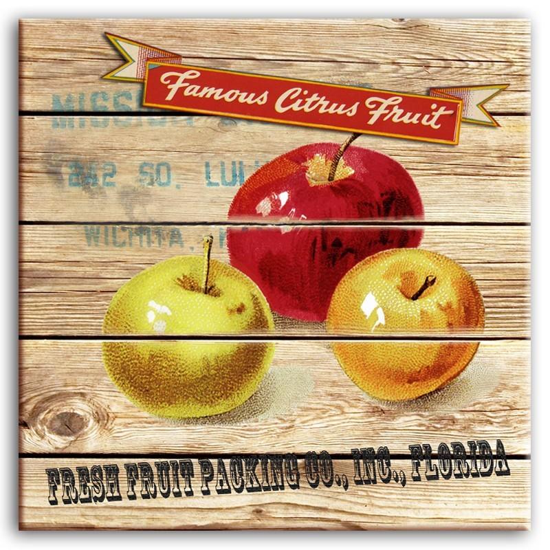 Obraz na plátně Jablka