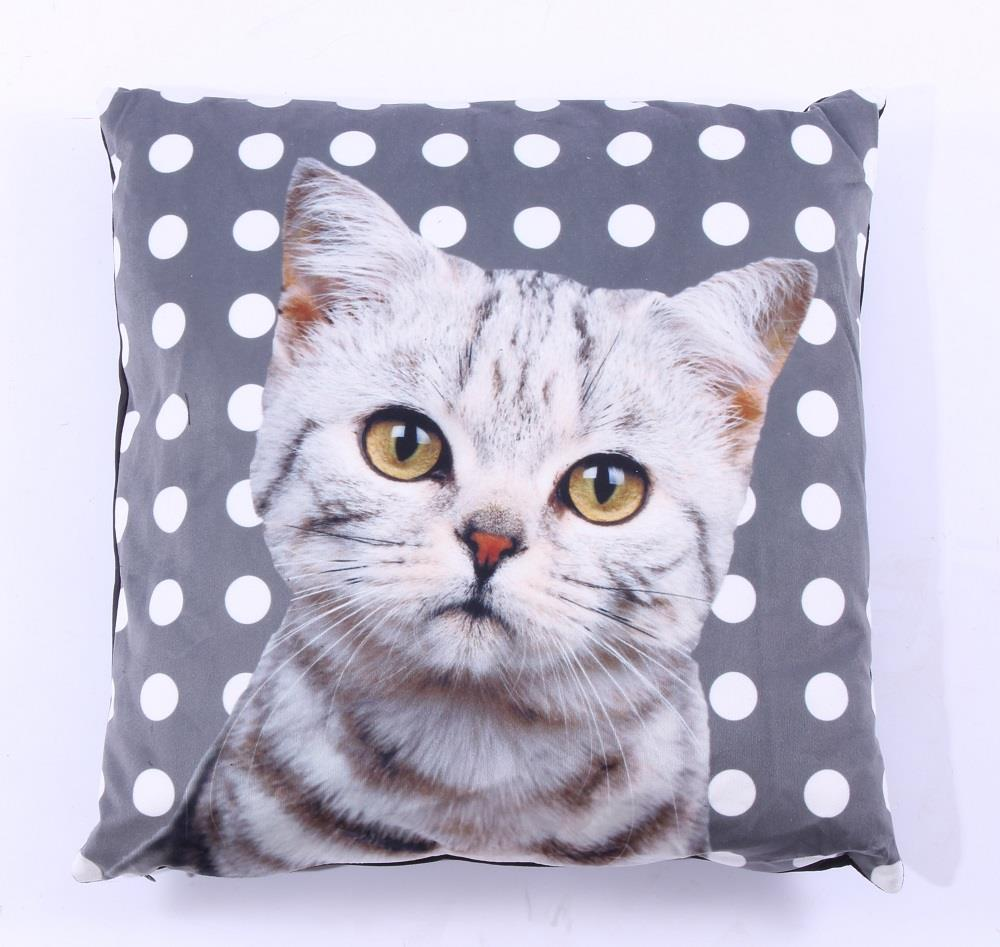 Luxusní polštář Kočička - Kočka