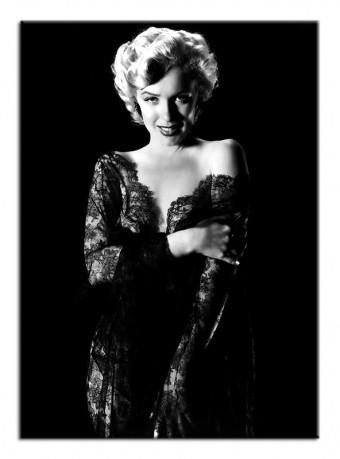 Obraz na zeď Marilyn Monroe M - černé šaty 2