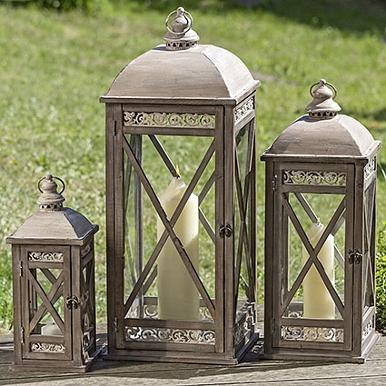 Dřevěné luxusní lucerny Pavlína
