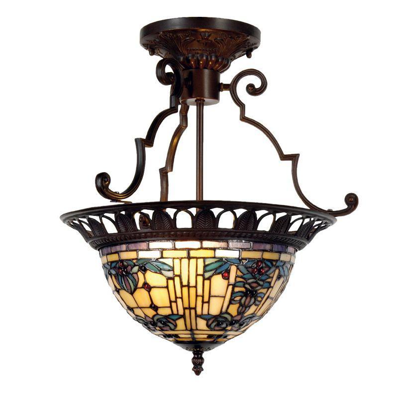 Vitrážový lustr Tiffany