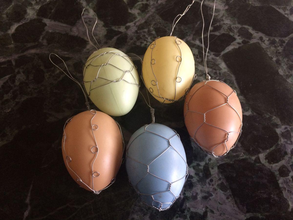 Velikonoční vajíčka 5 ks