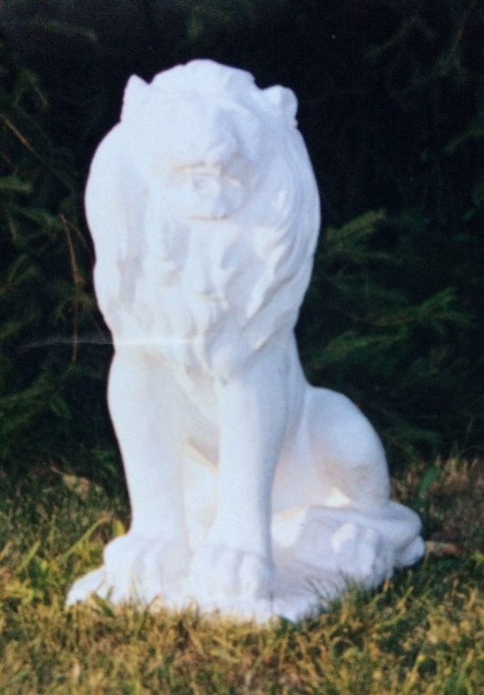 Lev velký - socha z mramorové drti