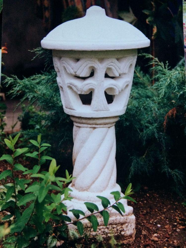 Čínská lampa z mramorové drti