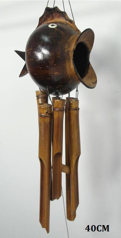 Zvonkohra z bambusu Gong Ryba