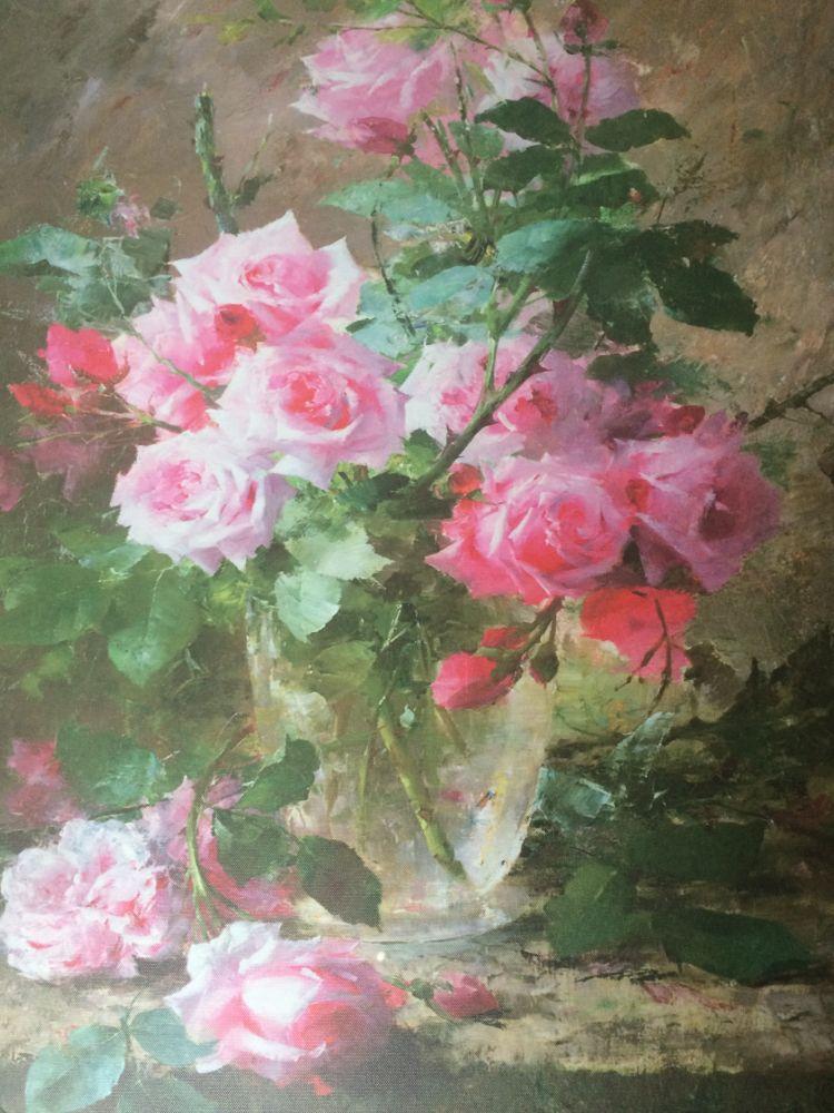 Obraz na zeď Kytice - Růže ve džánu