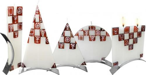 Svíčka Café Pyramid vysoká