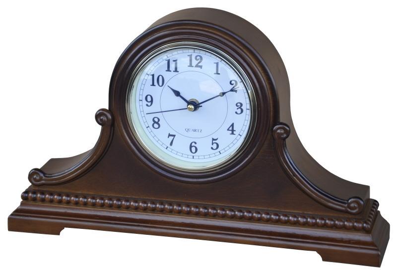 Dřevěné krbové hodiny Wood Love