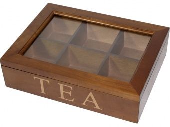 Dřevěná skříňka - na čaj Tea wood