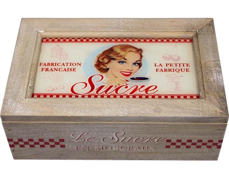 Dřevěná skříňka - lékárnička Surve - poškozeno