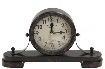 Kovové hodiny krbové Victoria