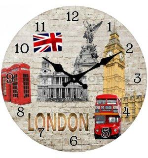 Hodiny na zeď London