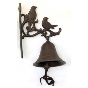 Litinový zvonek Ptáčci Kompli