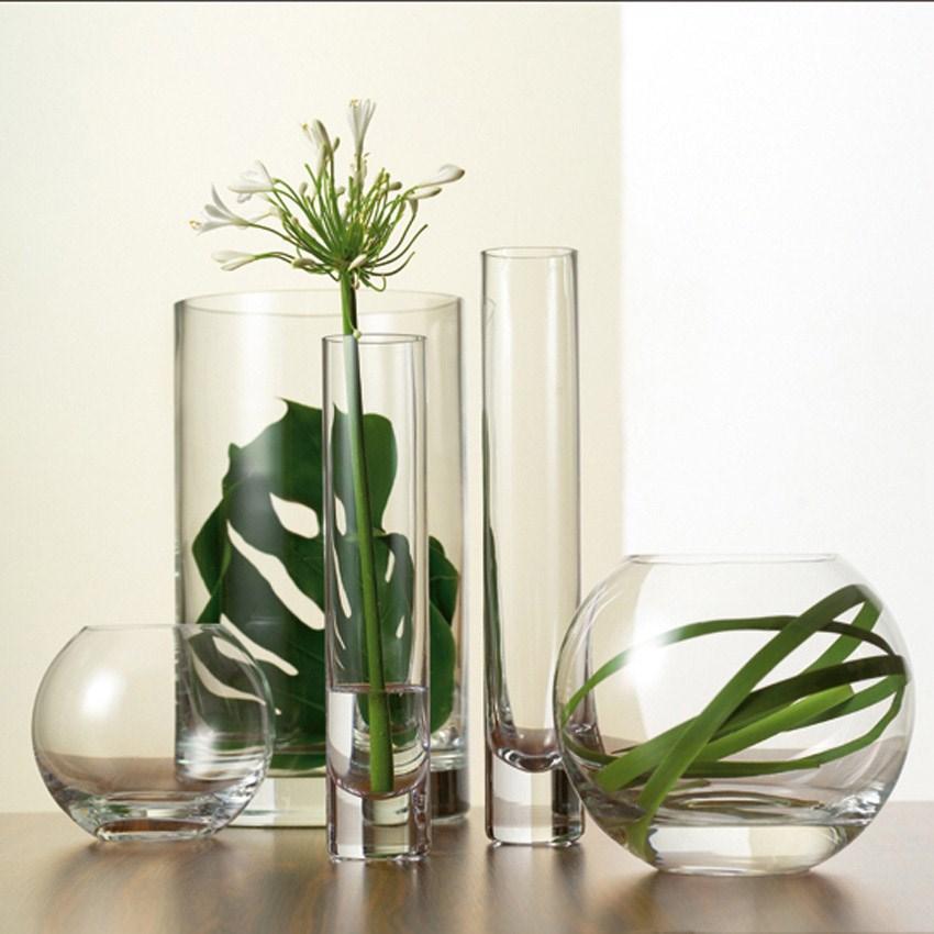 Skleněná váza Koule M