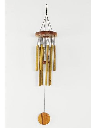 Bambusová zvonkohra - Gong - Kruh