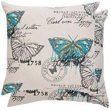 Povlak na polštář Motýl Linné