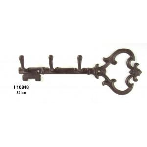 Kovový věšák Klíč malý