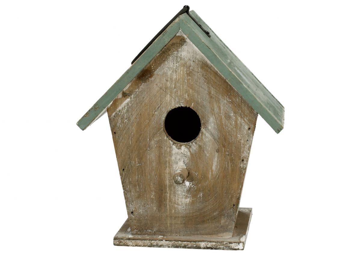 Ptačí budka Domek vysoký natural