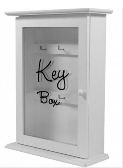 Dřevěná skříňka na klíče Key box