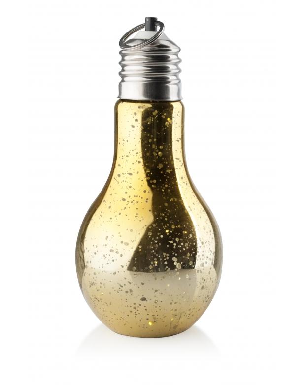 Žárovka Led světlo - světelná dekorace zlatá