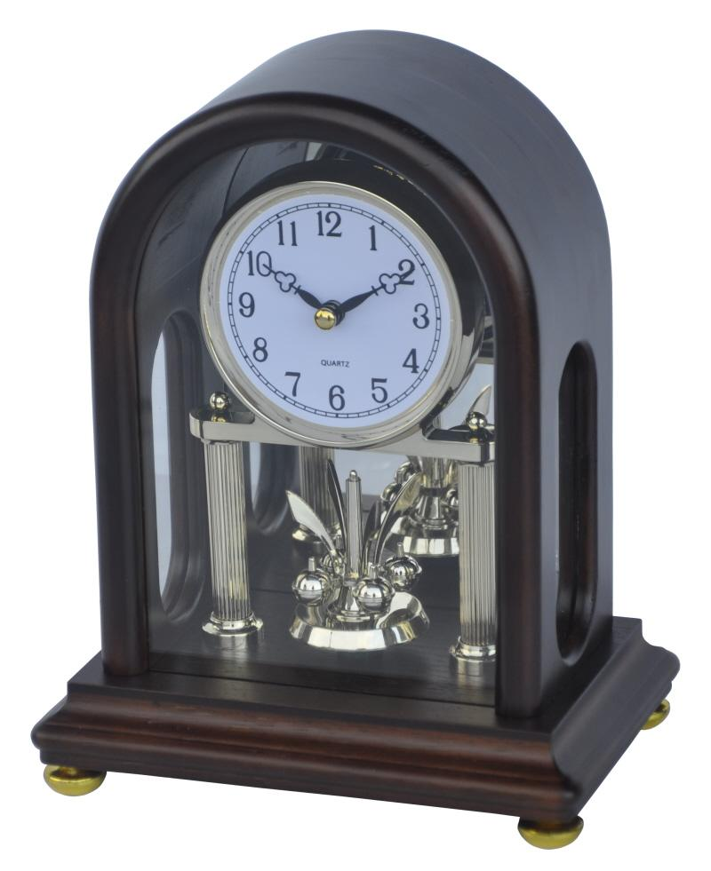Dřevěné krbové hodiny S kuličkami