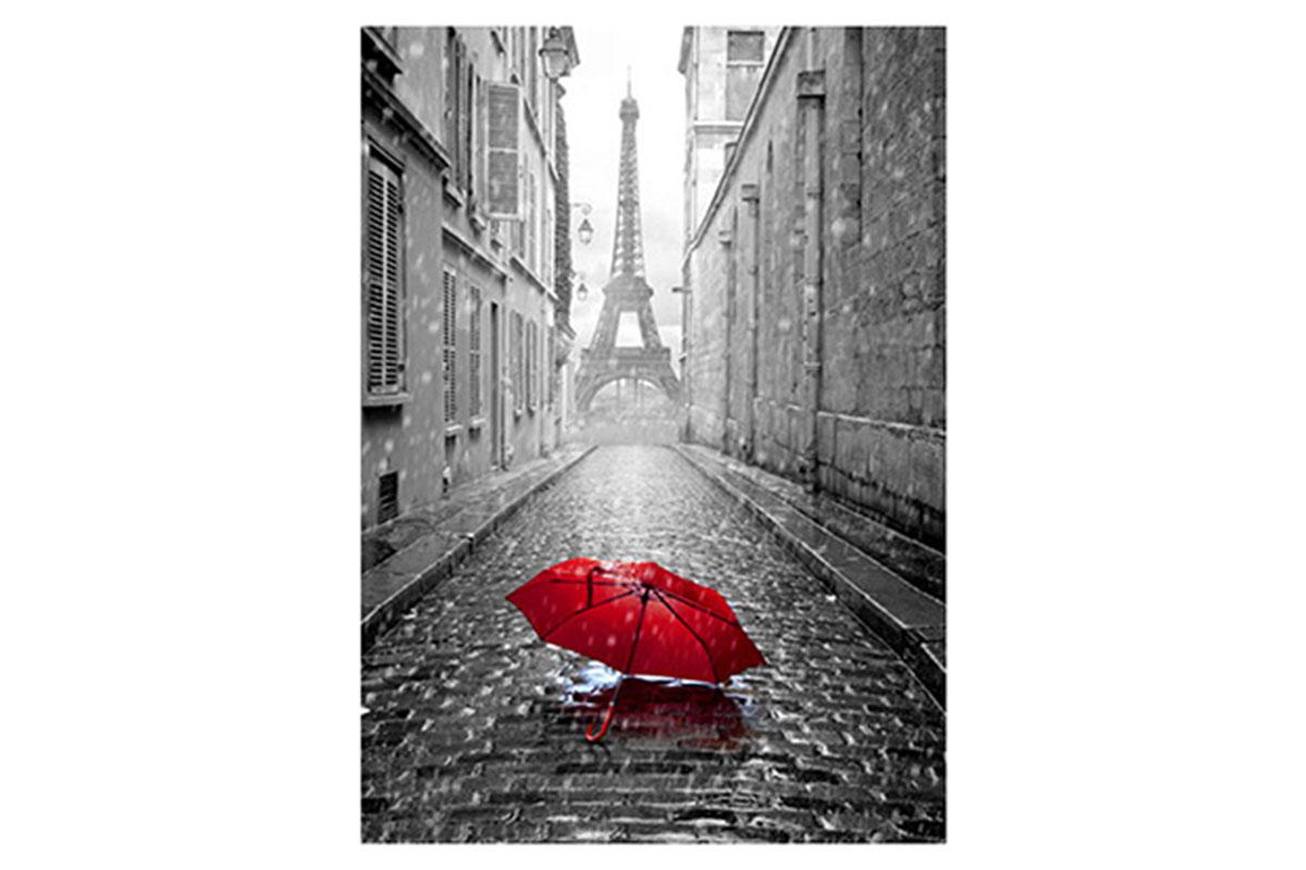 Obraz na zeď Paris - Eiffelovka deštník