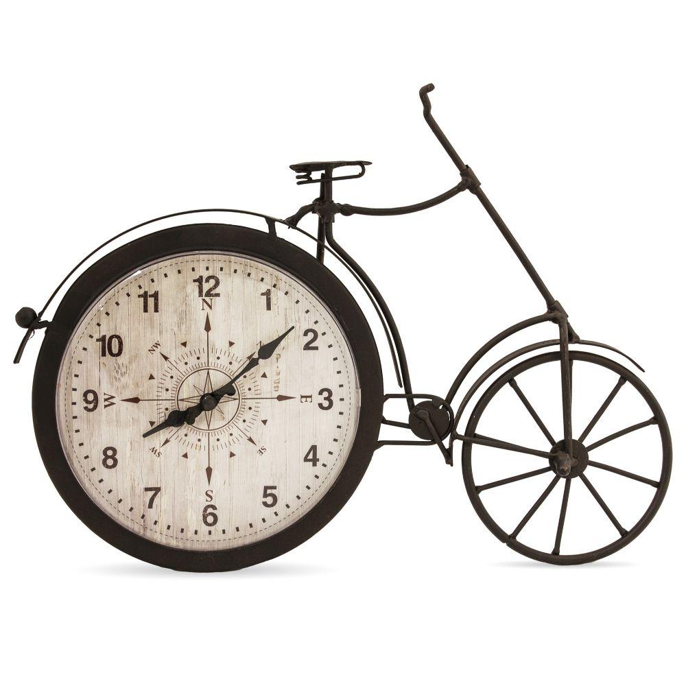 Kovové hodiny Kolo menší
