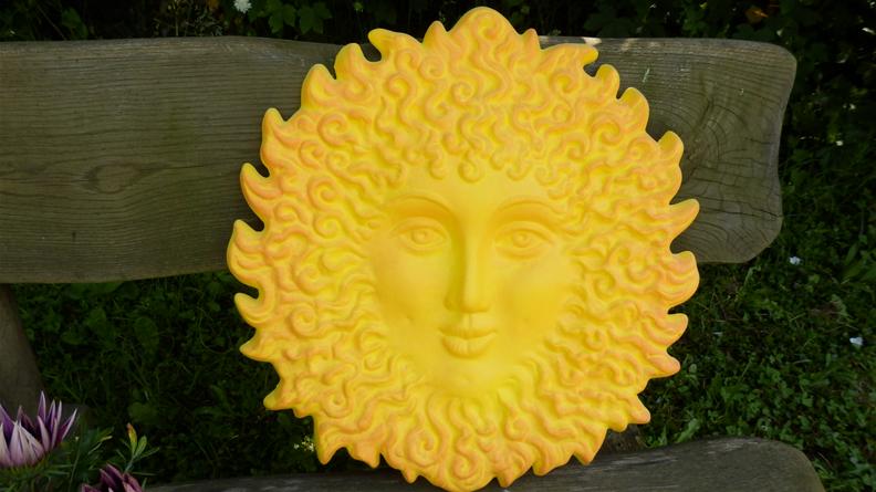 Keramika na zeď Francouzské slunce žluté