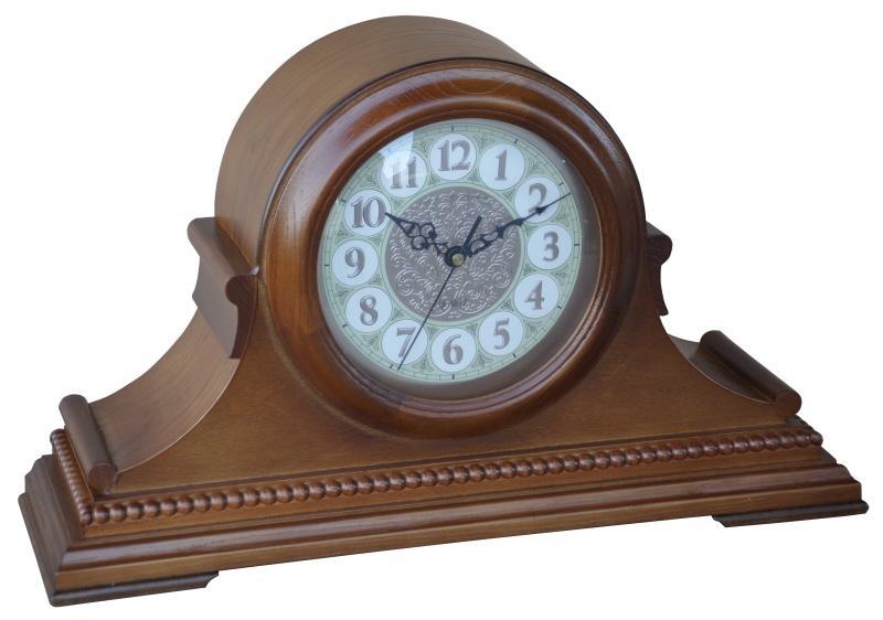 Dřevěné krbové hodiny Orloj velké