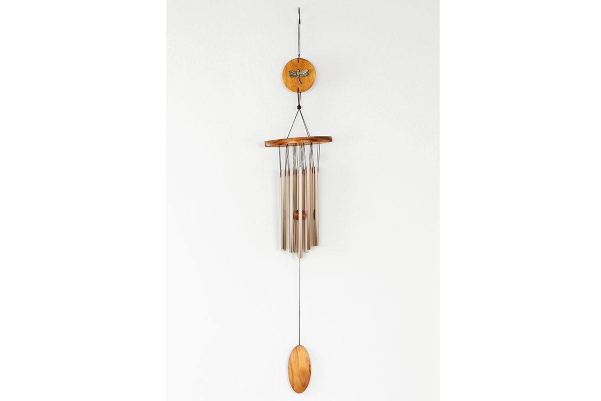 Bambusová zvonkohra - Gong - Vážka