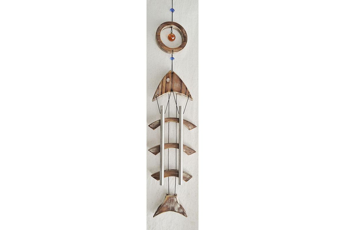 Bambusová zvonkohra - Gong - Ryba