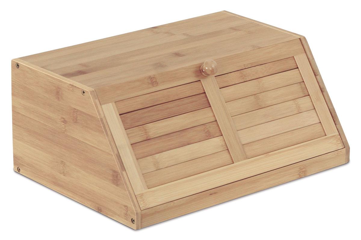 Dřevěný chlebník - box na pečivo