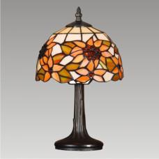 Stolní vitrážová lampa Slunečnice