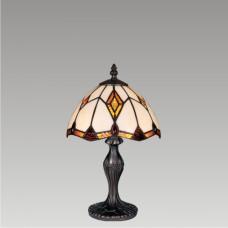 Stolní vitrážová lampa Lotos M