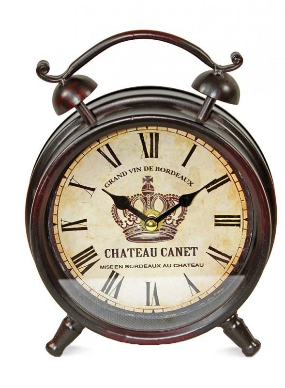 Retro budík Chateau Canet