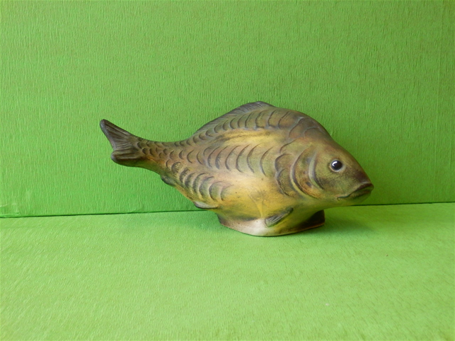 Keramická ryba - Kapr color