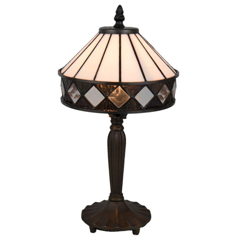 Stolní vitrážová lampa styl Tiffany Caira