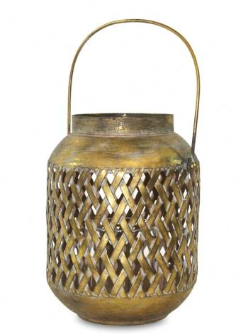 Kovová lucerna Goa