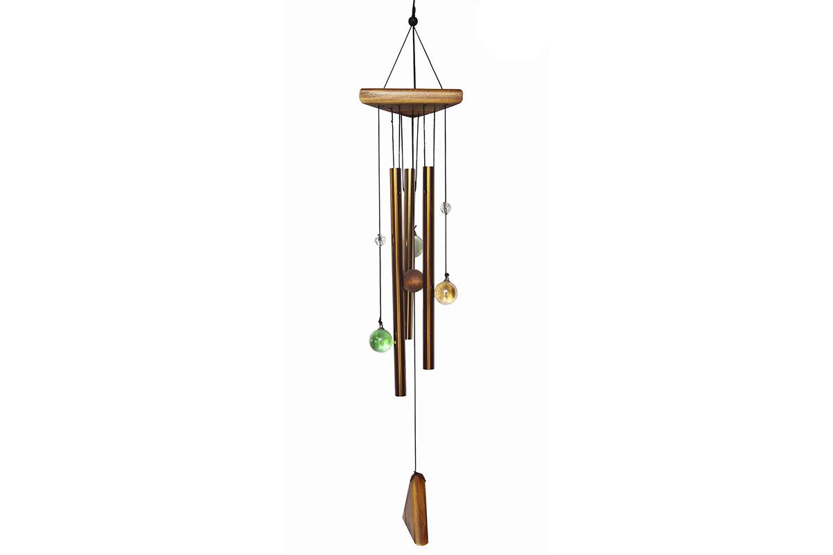 Kombinovaná zvonkohra - Gong - Skleněné kuličky
