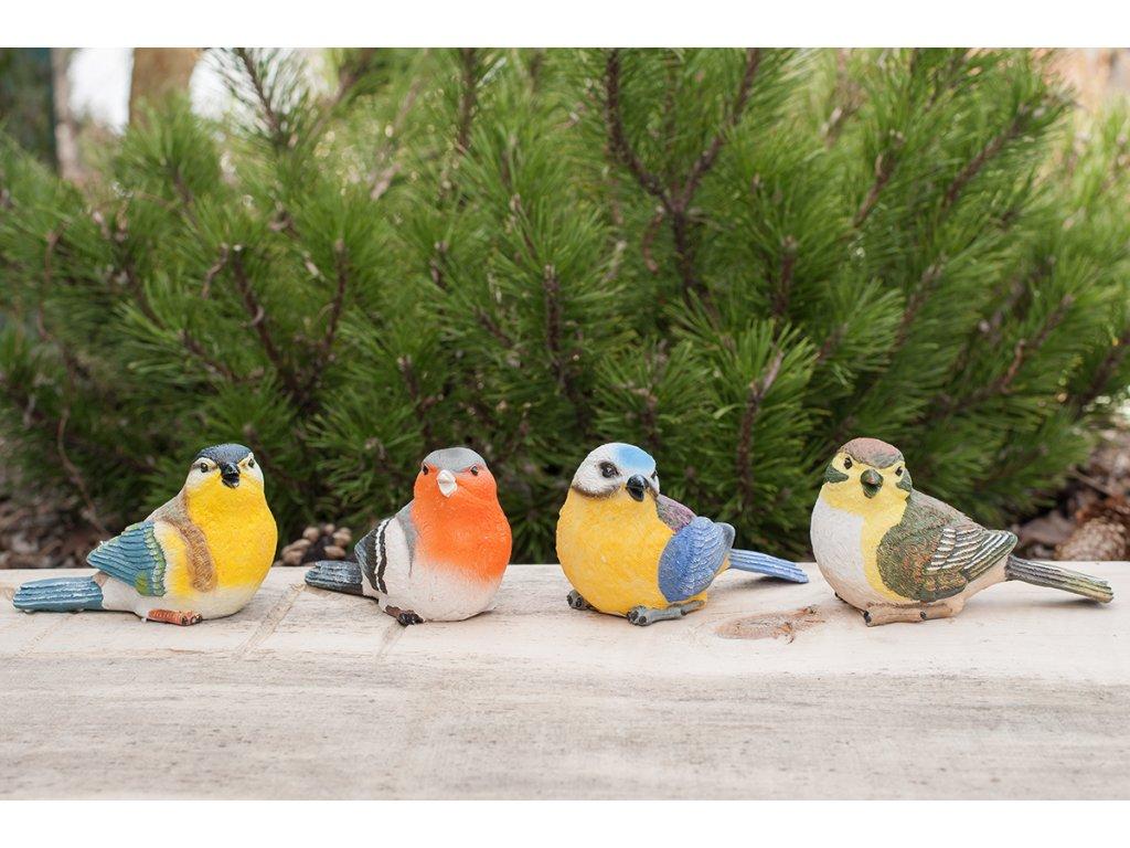 Dekorace na zahradu Ptáček větší