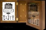 Dřevěná skříňka na klíče - La maison